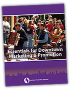 Essentials for Downtown Marketing & Promotion